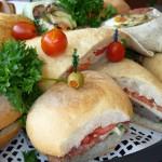 Four Corners Sandwich Wrap Platter