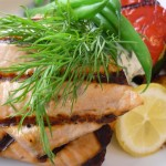 Maple Mustard Roasted Salmon