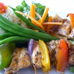 Opa Chicken Skewers