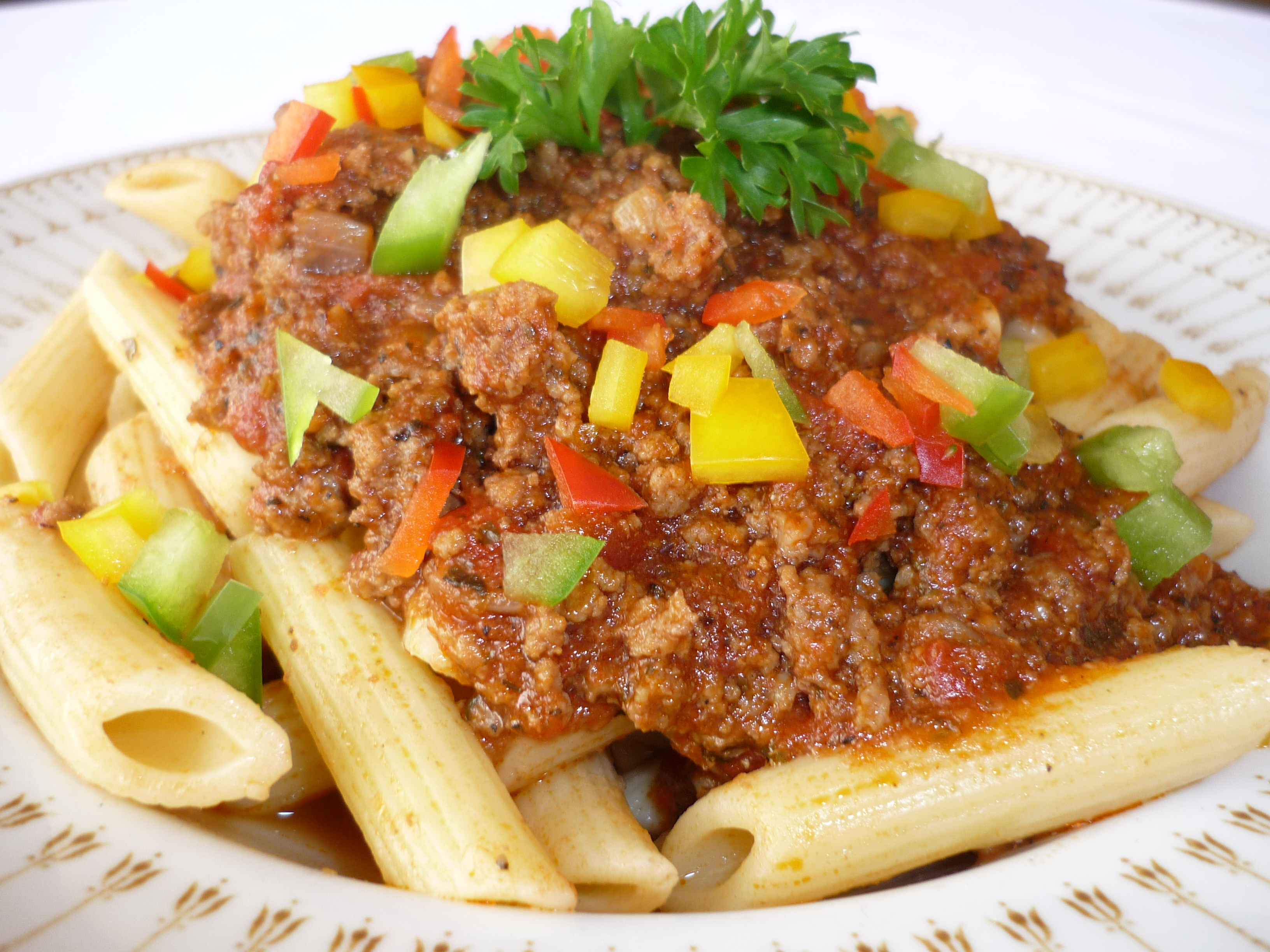 Our Bolognese sauce makes this dish a memorable taste experience ...